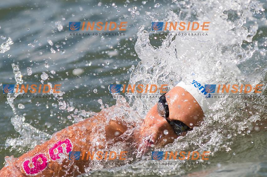 VAN ROUWENDAAL Sharon NED<br /> Hoorn, Netherlands <br /> LEN 2016 European Open Water Swimming Championships <br /> Open Water Swimming<br /> Women's 5km<br /> Day 02 12-07-2016<br /> Photo Giorgio Perottino/Deepbluemedia/Insidefoto