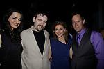 Dylan Bank & girlfriend Aurora - Mandy Bruno & Robert Bogue at Gala Awards Night - Closing Night - Hoboken International Film Festival held June 5, 2014 at the Paramount Theatre, Middletown, New York. (Sue Coflin/Max Photos)