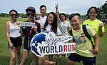 Runners compete during the Wings for Life World Run on 08 May, 2016 in Yilan, Taiwan. Photo by Lucas Schifres / Power Sport Images