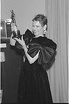 Dianne Wiest at the Academy Awards 1987.