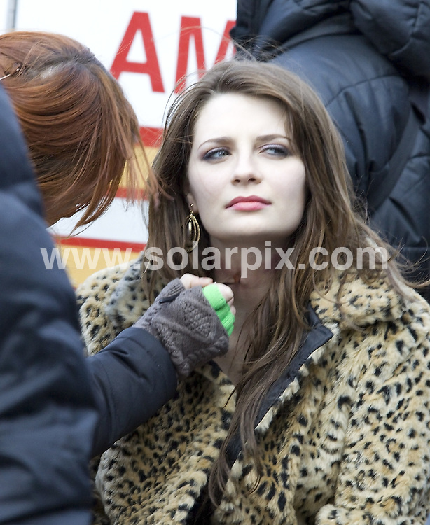 **ALL ROUND PICTURES FROM SOLARPIX.COM**.**SYNDICATION RIGHTS FOR UK, AUSTRALIA, DENMARK, PORTUGAL, S. AFRICA, SPAIN & DUBAI (U.A.E) ONLY**.Mischa Barton on set filming Law & Order: Special Victims Unit in the Meat Packing District of New York City, NY, USA. 18 January 2010..This pic: Mischa Barton..JOB REF: 10484 PHZ Mayer   DATE: 18_01_2010.**MUST CREDIT SOLARPIX.COM OR DOUBLE FEE WILL BE CHARGED**.**MUST NOTIFY SOLARPIX OF ONLINE USAGE**.**CALL US ON: +34 952 811 768 or LOW RATE FROM UK 0844 617 7637**
