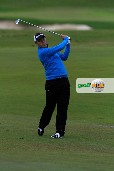 Daniel Im (USA) during Round 1 of the NH Collection Open at the La Reserva de Sotogrande Club de Golf in Cadiz Spain on Thursday 3rd April 2014<br /> Picture:  Thos Caffrey / www.golffile.ie
