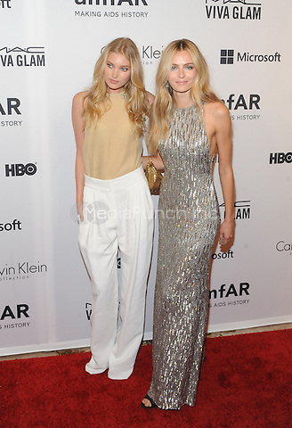 New York,NY- June 10: Elsa Hosk,Valentina Zelyaeva attends the amfAR Inspiration Gala at The Plaza Hotel In New York City on June 10, 2014 . Credit: John Palmer/MediaPunch