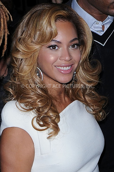 "WWW.ACEPIXS.COM . . . . . .November 22, 2010...New York City...Beyonce Knowles arrives to the launch event for Lorraine Schwartz ""2BHappy"" jewelry collection on November 22, 2010 in New York City....Please byline: KRISTIN CALLAHAN - ACEPIXS.COM.. . . . . . ..Ace Pictures, Inc: ..tel: (212) 243 8787 or (646) 769 0430..e-mail: info@acepixs.com..web: http://www.acepixs.com ."