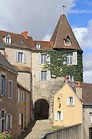 France, Indre (36), Châteauroux, Porte Vieille-Prison du XVe siècle // France, Indre, Chateauroux, door Vieille Prison
