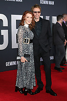 """LOS ANGELES - OCT 6:  Linda Bruckheimer, Jerry Bruckheimer at the """"Gemini"""" Premiere at the TCL Chinese Theater IMAX on October 6, 2019 in Los Angeles, CA"""
