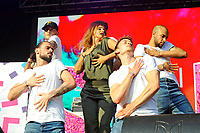 LONDON, ENGLAND - JUNE 3: Louise (Louise Redknapp) performing at Mighty Hoopla at Brockwell Park, Brixton on June 3, 2018 in London<br /> CAP/MAR<br /> &copy;MAR/Capital Pictures