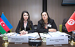BRUSSELS - BELGIUM - 25 November 2016 -- European Training Foundation (ETF) Governing Board meeting. -- Nigar Ismayilzade, Head of Initial Vocational Education And Training Division - Ministry of Education (Azerbaijan); Monia Raies Mghirbi, Advisor to the Minister - Ministry of Vocational Training and Employment (Tunisia). -- PHOTO: Juha ROININEN / EUP-IMAGES