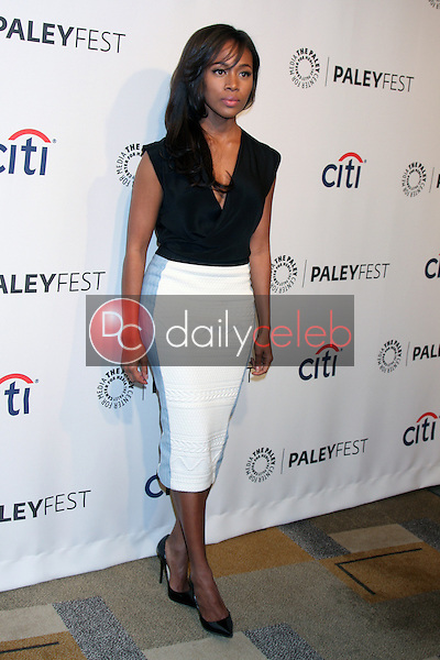 """Nicole Beharie<br /> at """"Sleepy Hollow"""" at the 31st PALEYFEST, Dolby Theater, Hollywood, CA 03-19-14<br /> David Edwards/DailyCeleb.Com 818-249-4998"""