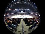 08.09.2017, Mercedes Benz Arena, Berlin, GER, 1.DEL, EISBAEREN BERLIN  VS.  THOMAS SABO ICE TIGERS, im Bild <br /> Hallen-Innenansicht<br /> <br />      <br /> Foto &copy; nordphoto / Engler
