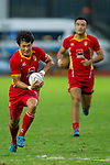 The China team in action during Day 1 of the Shanghai Sevens - part of the HSBC Asian Sevens Series - at the Yuanshen Stadium on August 27, 2011 in Shanghai, China. Photo  © Raf Sanchez / The Power of Sport Images for Societe Generale