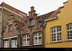 17th century Stepped Gables, Noordzandstraat, Bruges, Brugge, Belgium