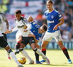 28.07.2019 Rangers v Derby County: Matt Polster and Florian Jozefzoon