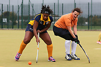 Romford HC Ladies vs Maldon HC Ladies 2nd XI, Essex Women's League Field Hockey at the Robert Clack Leisure Centre on 7th October 2017
