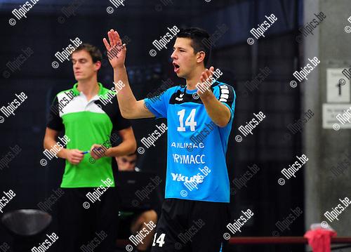 2014-11-29 / Volleybal / seizoen 2014-2015 / Mendo Booischot / Marijn Claes<br /><br />Foto: mpics.be