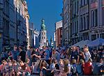 Rynek Gł&oacute;wny w Krakowie, widok w stronę ulicy Grodzkiej, Polska<br /> Main Market Square in Cracow, view towards Grodzka Street, Poland