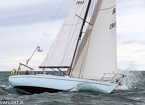 Blackjack (IRL 1988), a Pocock 37 skippered by Peter Coad
