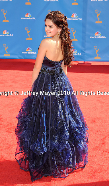 LOS ANGELES, CA. - August 29: Ariel Winter arrives at the 62nd Annual Primetime Emmy Awards at Nokia LA Live on August 29, 2010 in Los Angeles, California.