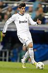 Real Madrid's Alvaro Morata during Champions League Match. December 04, 2012. (ALTERPHOTOS/Alvaro Hernandez)