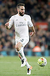 Real Madrid's Daniel Carvajal during La Liga match. April 2,2016. (ALTERPHOTOS/Acero)