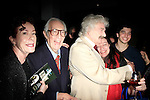 """SANTA MONICA -FEB 11: Alba Francesca, James Karen, Hal Holbrook at """"Hal Holbrook in Mark Twain TONIGHT!,"""" a benefit for The Actors Fund, at The Broad Stage on February 11, 2016 in  Santa Monica, California"""