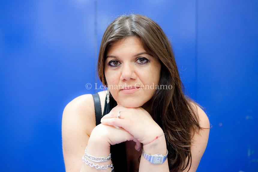 Gabriella Genisi, writer pugliese di Bari, Italy, Milano 2010-  © Leonardo Cendamo