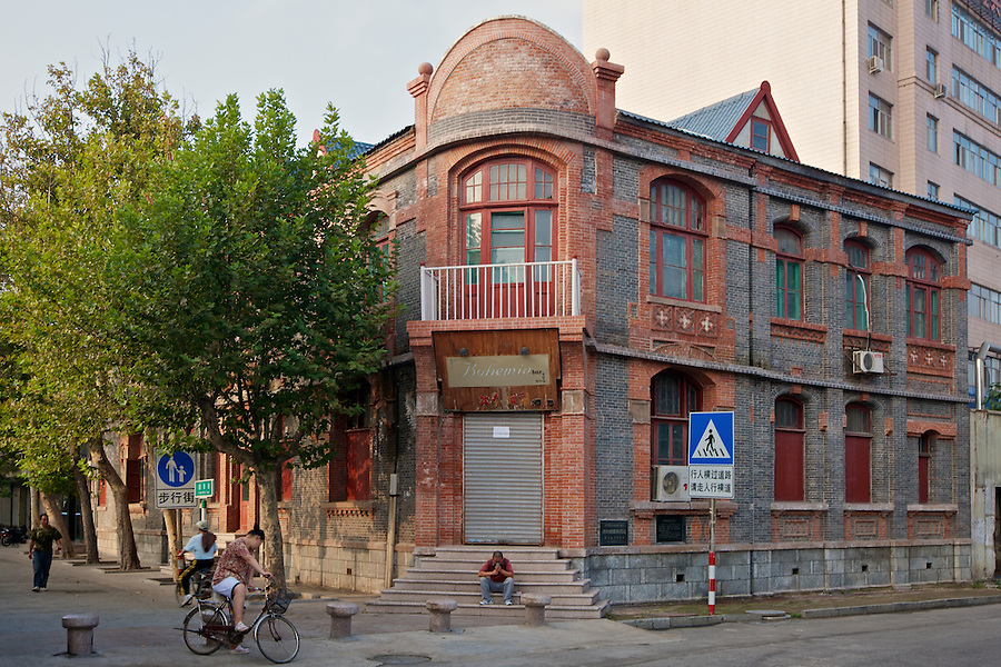 The Russian Post Office.  Already Looking Smart In 2010, It Has Become Even Smarter Following A Full Restoration In 2105.  Yantai (Chefoo).