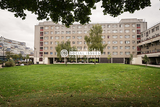 Social housing, London Borough of Haringey, UK