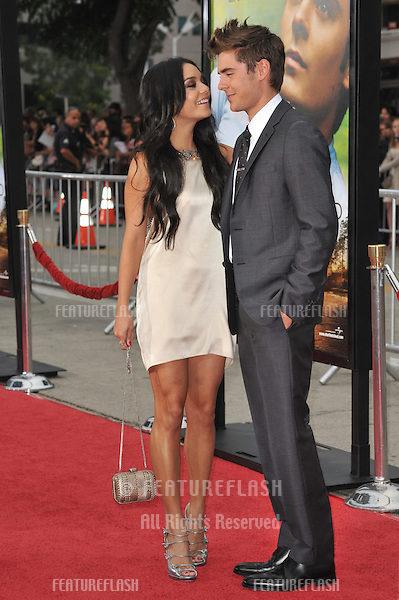 "Zac Efron & girlfriend Vanessa Hudgens at the world premiere of his new movie ""Charlie St. Cloud"" at the Mann Village Theatre, Westwood..July 20, 2010  Los Angeles, CA.Picture: Paul Smith / Featureflash"