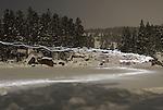 Excursio nocturna amb rauetes de neu al llac del Orri