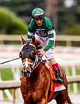 MAY 27: Vino Rosso with John Velazquez wins The Gold Cup at Santa Anita at Santa Anita Park in Arcadia, California on May 27, 2019. Evers/Eclipse Sportswire/CSM