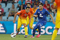 15.09.2012 SPAIN -  La Liga 12/13 Matchday 4th  match played between Getafe C.F. vs F.C. Barcelona (1-4) at Alfonso Perez stadium. The picture show Xavier Hernandez Creus (Spanish midfielder of Barcelona)