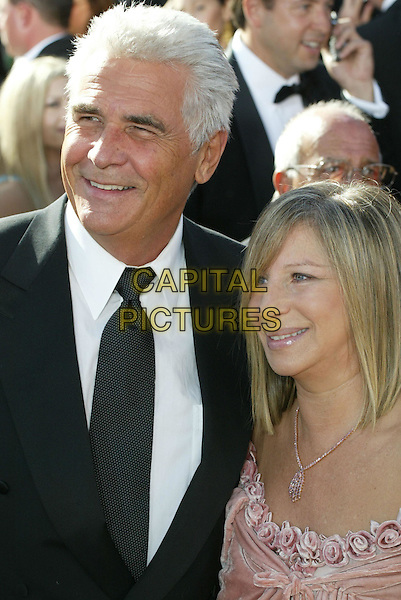 JAMES BROLIN & BARBARA STREISAND.At the 56th Annual Prime Time Emmy Awards held the Shrine Auditorium, Los Angeles, CA, USA, .19th September, 2004..portrait headshot .Ref: ADM.www.capitalpictures.com.sales@capitalpictures.com.©Charles Harris/AdMedia/Capital Pictures .