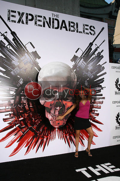 """Alicia Arden<br /> at the """"The Expendables"""" Film Screening, Chinese Theater, Hollywood, CA. 08--03-10<br /> David Edwards/Dailyceleb.com 818-249-4998"""