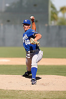 Dusty Odenbach - Kansas City Royals 2009 Instructional League. .Photo by:  Bill Mitchell/Four Seam Images..