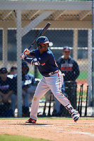 Atlanta Braves Yoeli Lopez (26) during a Minor League Spring Training game against the Detroit Tigers on March 22, 2018 at the TigerTown Complex in Lakeland, Florida.  (Mike Janes/Four Seam Images)