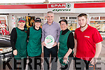 Foley's Spar, Castlemaine Road, Tralee who won a Sparr 5  Star Award, pictured from left are: Michelle Lynch, Becky Casey, Kieran Ahern, Manager, Kathryn Casey and Danny Casey.