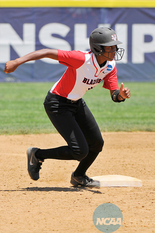 26 MAY 2014: Brittany Britt (26) of Valdosta State runs the bases during the Division II Women's Softball Championship held at the Moyer Sports Complex in Salem, VA.  West Texas defeated Valdosta State 3-2 for the national title.  Andres Alonso/NCAA Photos