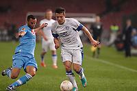 NAPOLI 08/11/2012 - GRUPPO F UEFA  EUROPA LEAGUE.INCONTRO NAPOLI - DNIPRO.NELLA FOTO    GIANDOMENICO MESTO.FOTO CIRO DE LUCA