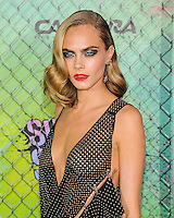 "01 August 2016 - New York, New York - Cara Delevingne. ""Suicide Squad"" World Premiere. Photo Credit: Mario Santoro/AdMedia"