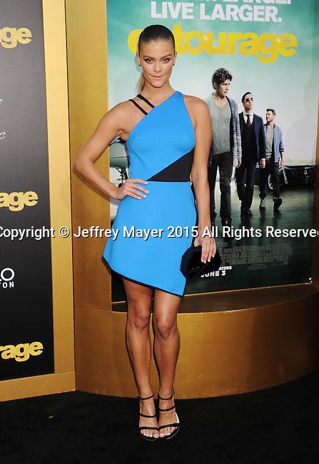 WESTWOOD, CA - JUNE 01: Model  Nina Agdal arrives at the 'Entourage' - Los Angeles Premiere at Regency Village Theatre on June 1, 2015 in Westwood, California.