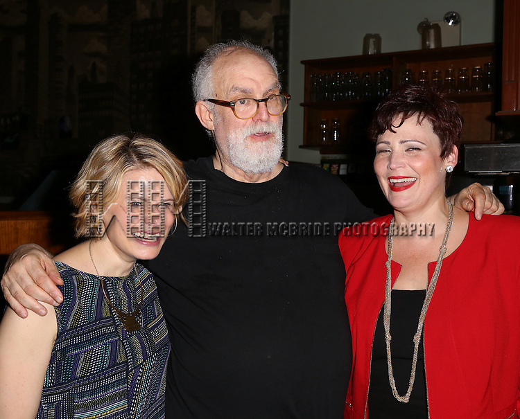 Celia Keenan-Bolger, William Finn and Lisa Howard attends the After Party for the One Night Only 10th Anniversary Concert of 'The 25th Annual Putnam County Spelling Bee' at Town Hall on July 6, 2015 in New York City.