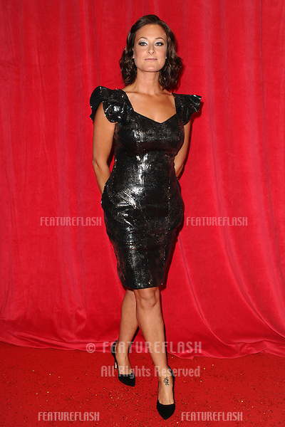 Luisa Bradshaw White arriving for the 2014 British Soap Awards, at the Hackney Empire, London. 24/05/2014 Picture by: Steve Vas / Featureflash