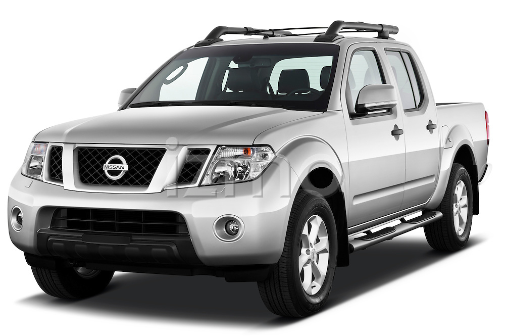 2010 nissan navara le 4 door pick up truck stock photo izmostock. Black Bedroom Furniture Sets. Home Design Ideas