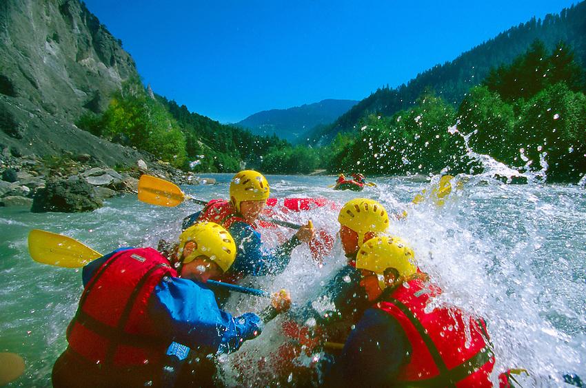 E Blaine Harrington III - Swiss river to the rhine