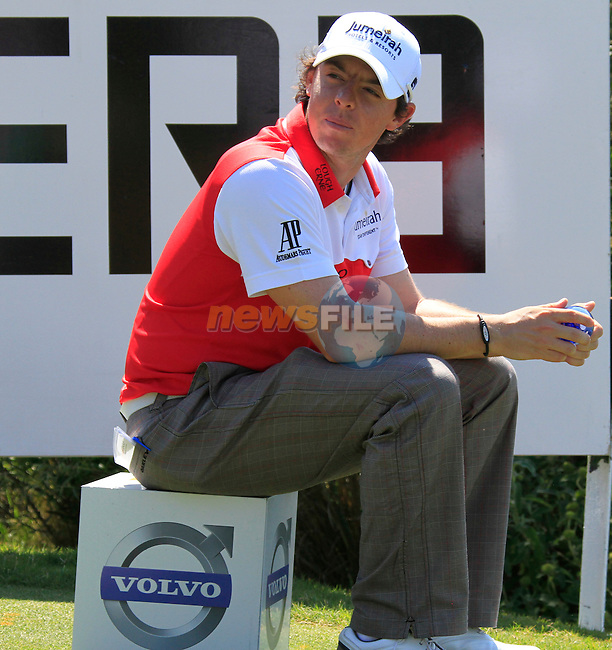 Rory McIlroy (N.IRL) waits to tee off on the 15th tee during the morning session on Day 3 of the Volvo World Match Play Championship in Finca Cortesin, Casares, Spain, 21st May 2011. (Photo Eoin Clarke/Golffile 2011)