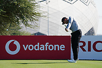 Laurie Canter (ENG) on the 11th during Round 1 of the Commercial Bank Qatar Masters 2020 at the Education City Golf Club, Doha, Qatar . 05/03/2020<br /> Picture: Golffile | Thos Caffrey<br /> <br /> <br /> All photo usage must carry mandatory copyright credit (© Golffile | Thos Caffrey)