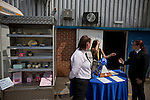 A display of cupcakes and the Conference National trophy on display outside Mansfield Town's Field Mill stadium during an open day held for the club's supporters as the club get ready for the new season. Mansfield Town achieved promotion back to England's Football League by winning the Conference National in season 2012-13. Field Mill was the oldest ground in the Football League, hosting football since 1861 although some reports date it back as far as 1850, with Mansfield Town having played there since 1919.
