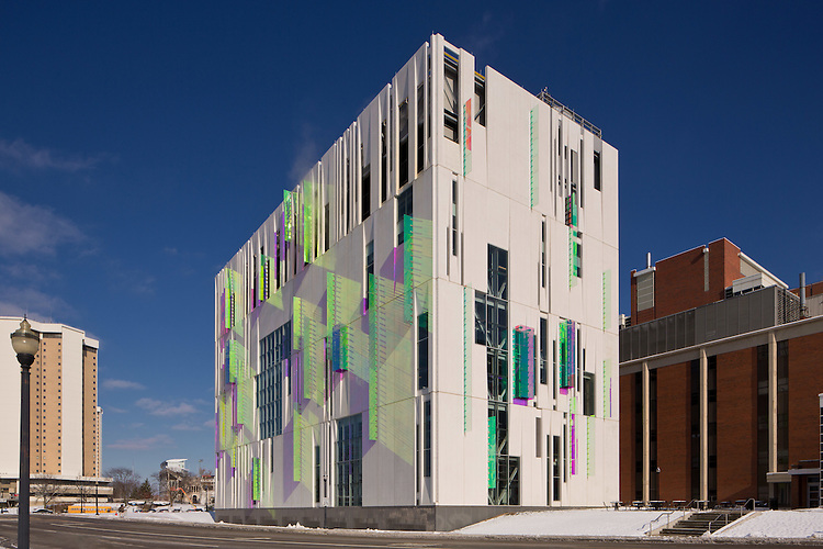 The Ohio State University South Campus Central Chiller Plant | Ross Barney  Architects U0026 Champlin Architecture