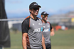 NELSON, NEW ZEALAND - January 7: Black Caps Training on January 7 2019 in Nelson, New Zealand. (Photo by: Evan Barnes Shuttersport Limited)